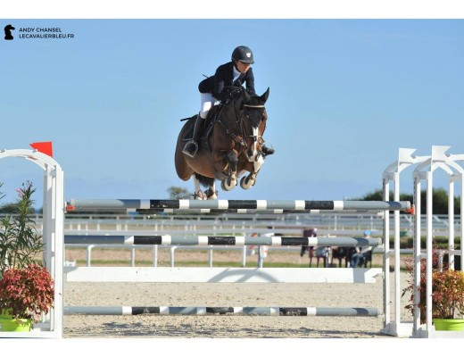 Marie Sapin & Fioretta Van T Eigenlo l 1,45m CSI 2* Cagnes-sur-Mer l 17/10/2015 GPA Jump Festival