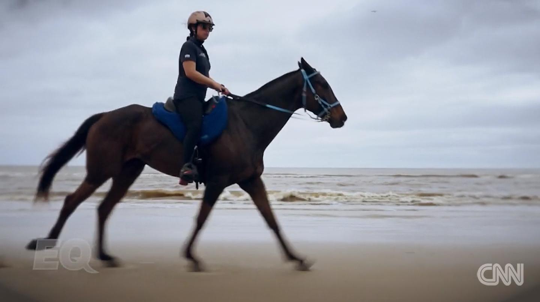 Oriana Ricca : Une course contre la maladie - Le cavalier bleu