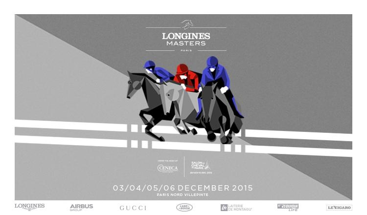 Affiche Longines Masters de Paris 2015