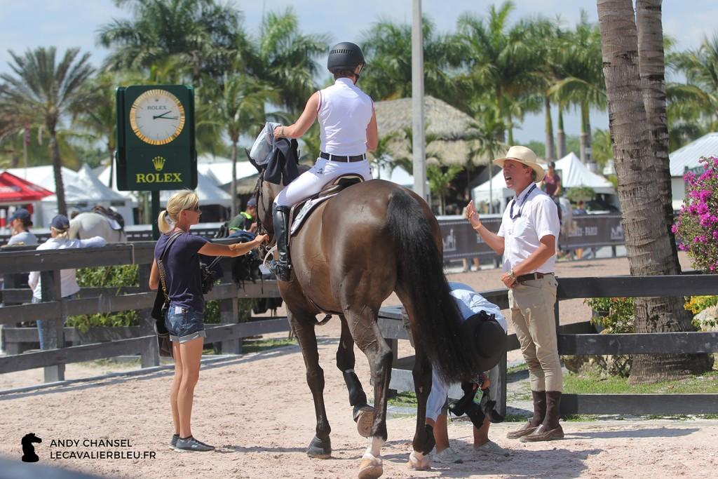 Meredith Beerbaum Unbelievable 5, Markus Beerbaum et son équipe