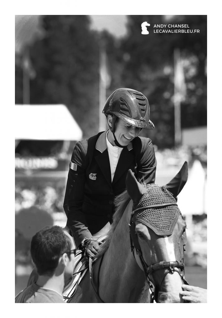 Le cavalier bleu - Penelope Leprevost