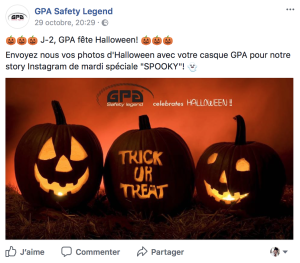 Halloween avec GPA - Le cavalier bleu