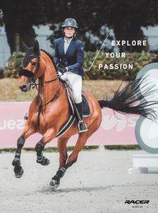 Explore your passion: La maison Racer propose des gants techniques et élégants pour un contact optimal. Portés par Fanny Skalli.